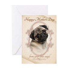 Funny Pug Mother's Day Card