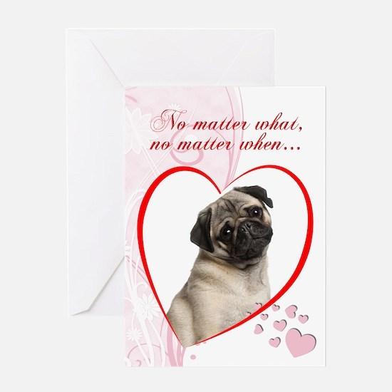 Pug Valentine's Day Card
