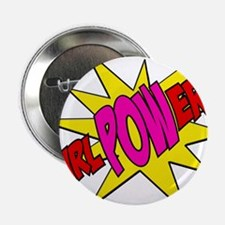 "Girl Power 2.25"" Button"