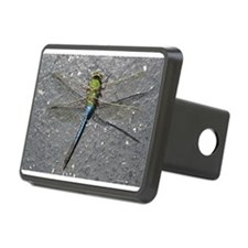 Green Dragonfly on Pavement Hitch Cover