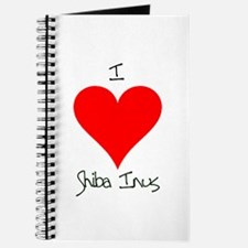I Love Shiba Inus Journal