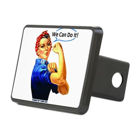 We Can Do It! Rectangular Hitch Cover
