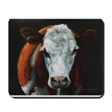 Hereford Cattle Mousepad