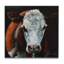 Hereford Cattle Tile Coaster