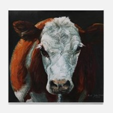 Hereford Cattle Tile Coaster