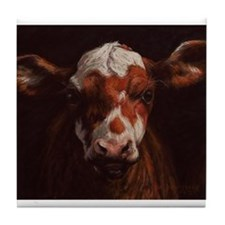 Hereford Calf Tile Coaster