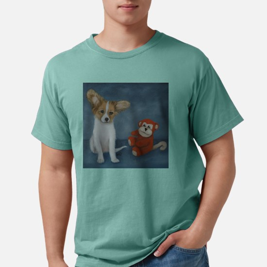 papillon-dogshirt.jpg Mens Comfort Colors Shirt