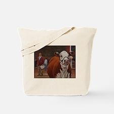 Heifer Class - Hereford Tote Bag