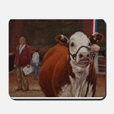 Heifer Class - Hereford Mousepad