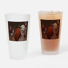 Heifer Class - Hereford Drinking Glass