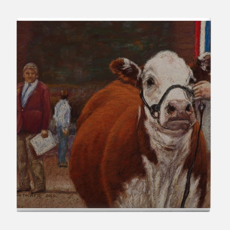 Heifer Class - Hereford Tile Coaster