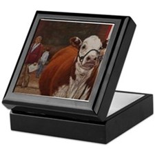 Heifer Class - Hereford Keepsake Box