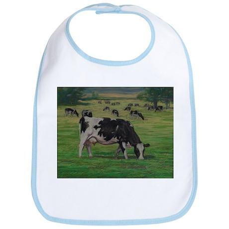 Holstein Milk Cow in Pasture Bib