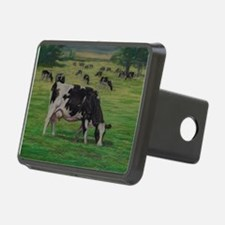 Holstein Milk Cow in Pasture Hitch Cover