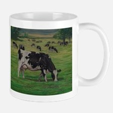 Holstein Milk Cow in Pasture Mug