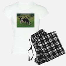 Holstein Milk Cow in Pasture Pajamas