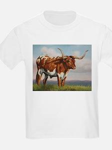 Texas Longhorn Steer T-Shirt