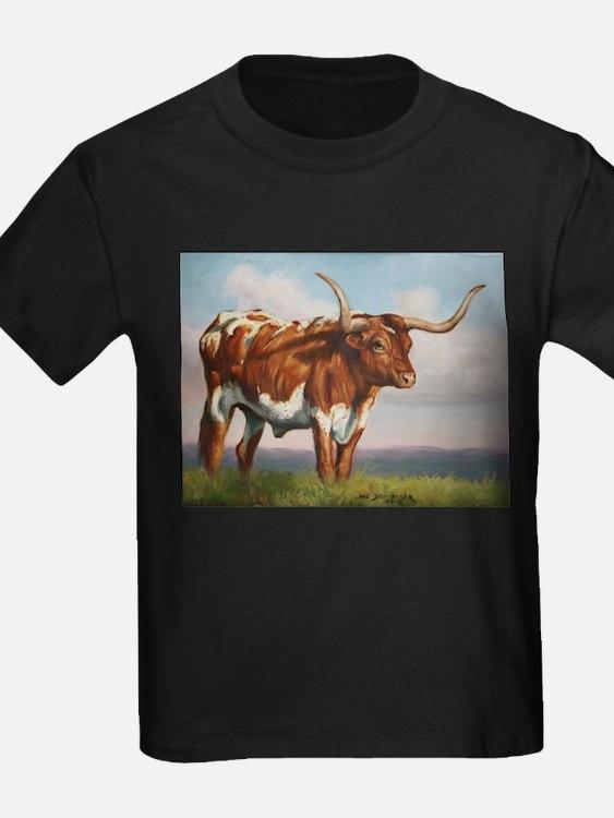 Texas Longhorn Steer T
