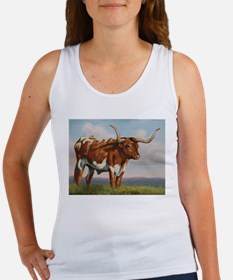 Texas Longhorn Steer Women's Tank Top