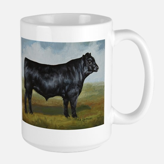 Black Angus Large Mug