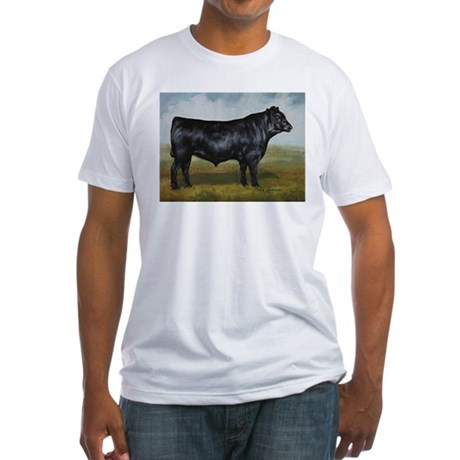 Black Angus Fitted T-Shirt
