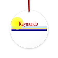 Raymundo Ornament (Round)