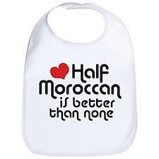 Half Moroccanan Bib