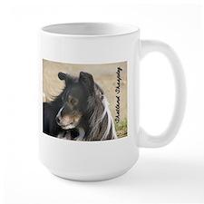 Large Sheltie Mug - Tricolor