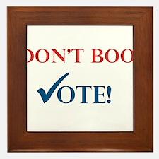 Vote Framed Tile