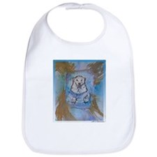 Polar bear! Wildlife art! Bib