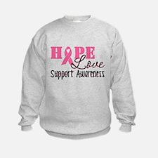 Hope Love Support Awareness Sweatshirt