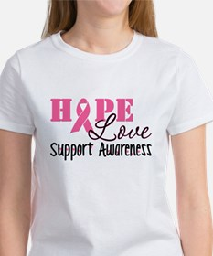 Hope Love Support Awareness Women's T-Shirt