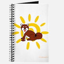 Shiba Sun iPad 2 White Journal