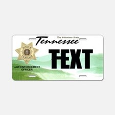 Tennessee Police Officer Custom License Plate
