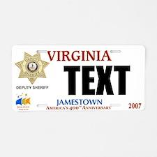 Virginia Deputy Sheriff Custom License Plate