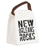 New Orleans Rocks Canvas Lunch Bag