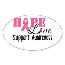 Hope Love Support Awareness Decal