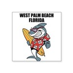 West Palm Beach Square Sticker 3