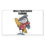 West Palm Beach Sticker (Rectangle 10 pk)