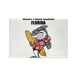 West Palm Beach Rectangle Magnet (100 pack)