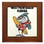 West Palm Beach Framed Tile