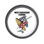 West Palm Beach Wall Clock