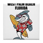 West Palm Beach Tile Coaster
