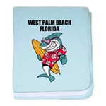 West Palm Beach baby blanket