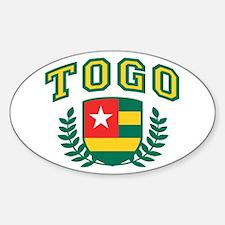 Togo Sticker (Oval)