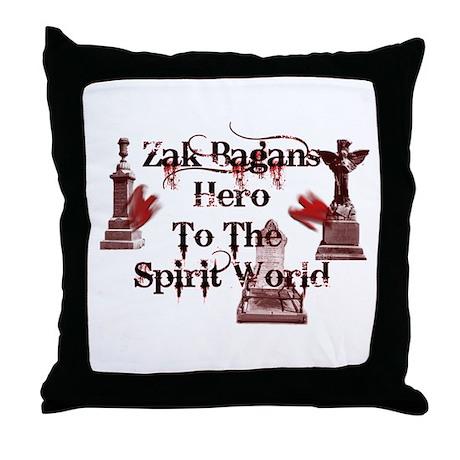 zAK BAGAn HERO.png Throw Pillow