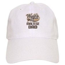 Maltese Dad Dog Gift Baseball Cap