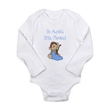 Auntie's Monkey(blue) Body Suit