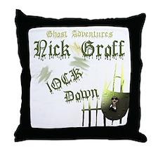 Nick Groff 2.png Throw Pillow
