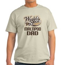 Maltipoo Dad Dog Gift T-Shirt